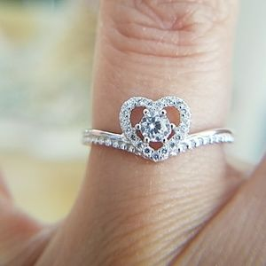 14k Gold plated Heart Promise Ring